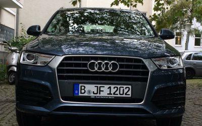 Wir fahren jetzt im neuen Q3 von Audi!