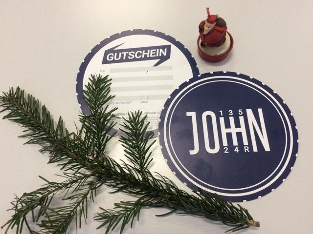 Geschenkgutscheine zu Weihnachten!